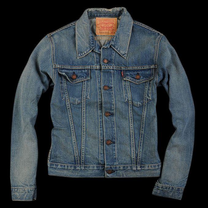 Levi's Jean Jacket...a staple of any wardrobe.