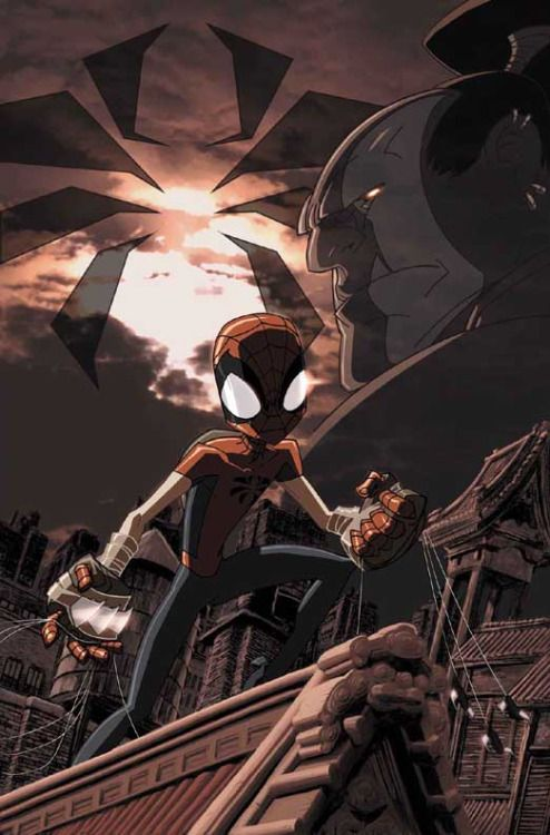 Marvel Mangaverse - Spider-Man by Kaare Andrews