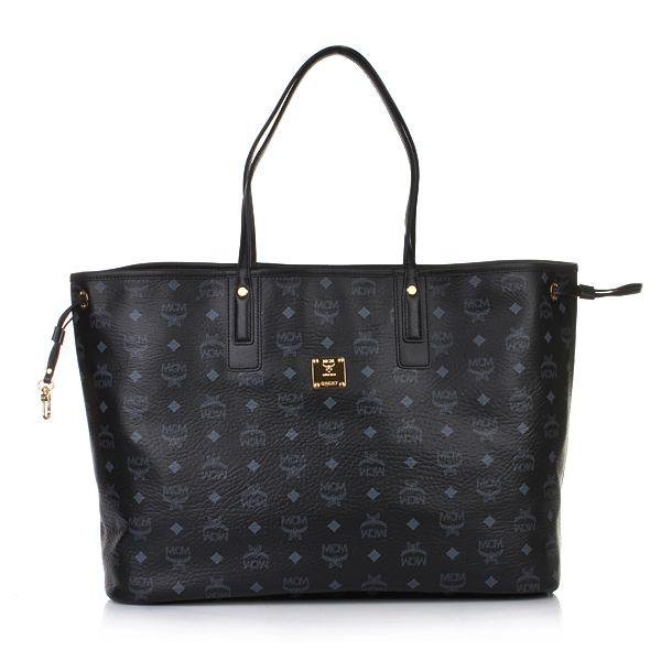 MCM Luxury   MCM Shopper Project Vintage Reversible Shopper Large Black in schwarz - Fashionette