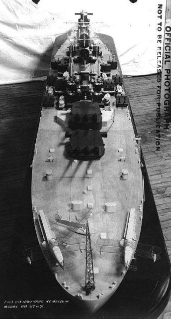 War History Online presents this Guest Article by Chris Knupp. Artist's impression of the Montana class Battleship Myth #1: The Montana class Ignored the P