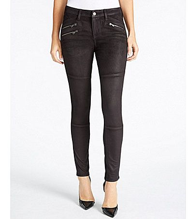 William Rast The Moto Ultrasuede Pants #Dillards
