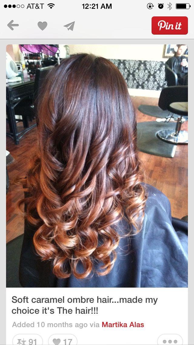 Best 25 imbre nails ideas on pinterest balayage hair bob thursdays new color day soft caramel ombre hair urmus Choice Image