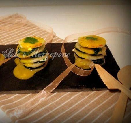 #Ricetta incredibilmente #salutare #minimalista e #naturale . una #millefoglie di #Daikon e #zucchine in salsa allo #zafferano. La presentazione è res davvero unica con le #posateDiLegno #ecobioshopping per la #ricetta http://saleemarzapane.blogspot.it/2014/03/millefoglie-di-daikon-e-zucchine-in.html per le #posateNaturali http://www.ecobioshopping.it/4-posate per maggiori informazioni sul #daikon visita il #blog http://ecobioshopping.blogspot.it/