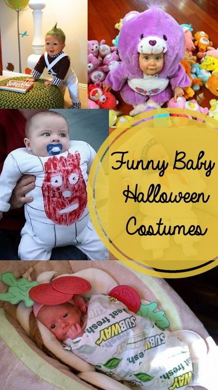 Funny Baby Halloween Costumes--I like a lot of the other ideas on this blog too (birthday party ideas, etc)