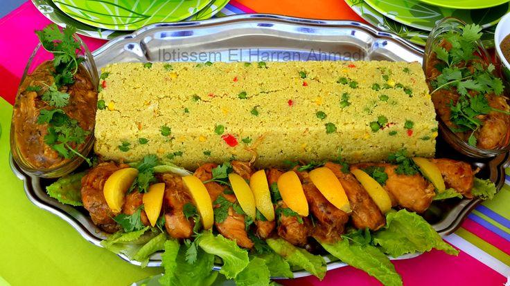 Poulet au citron#gingembre#citron confit#légumes#graine de couscous#coriandre fraîche#petit pois#oignon#ail#moutarde#