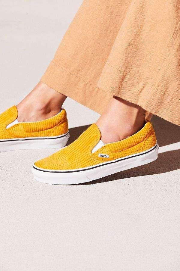 Corduroy Slip-On Sneakers   Slip on