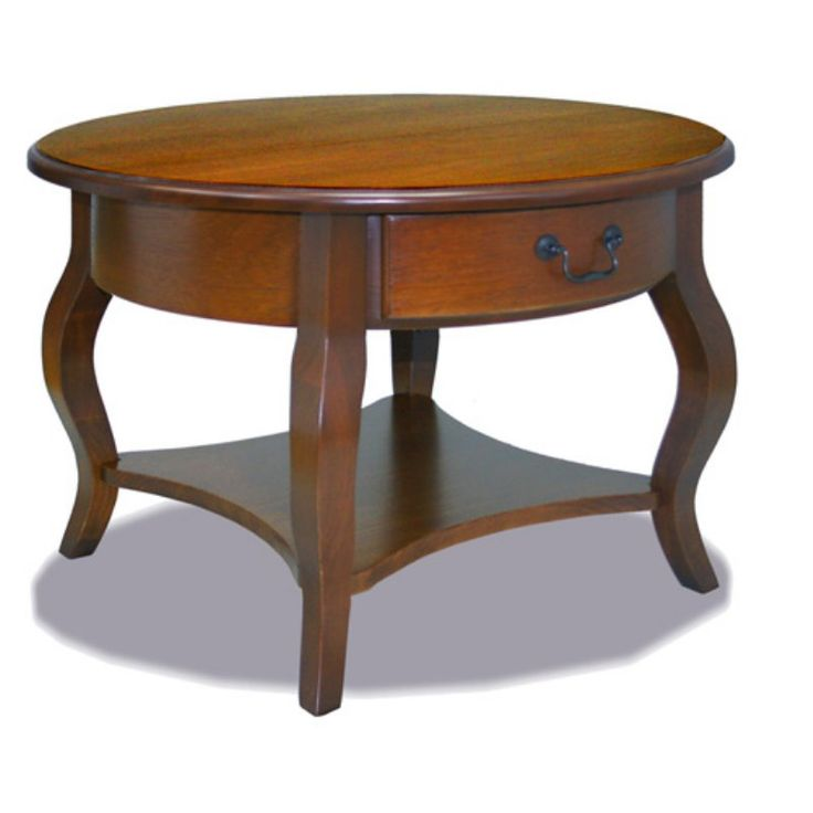 Leick 10034BR Favorite Finds Brown Cherry Coffee Table - 10034-BR