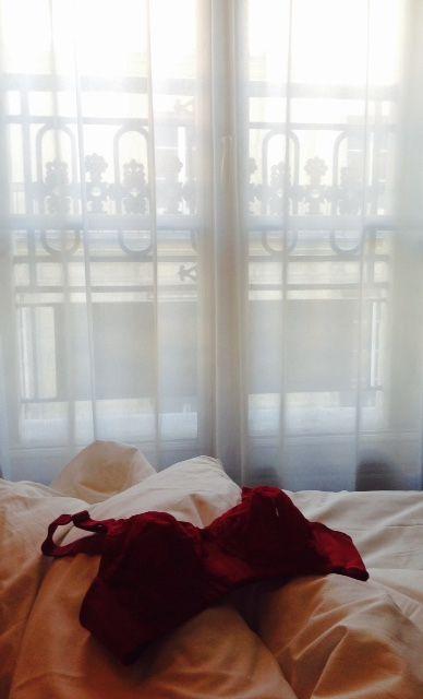 #pink #doreen #paris #hotel #bra #triumph