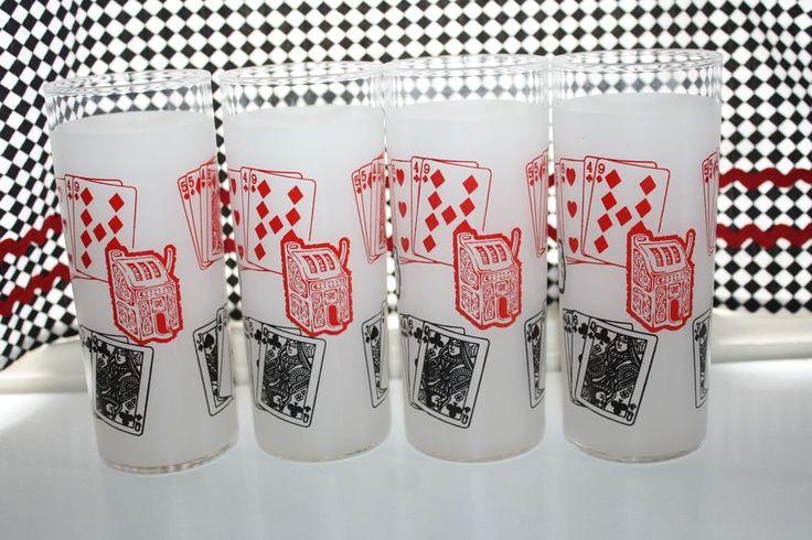 In Reno Harolds Club For FUN - Collectible Reno Casino Memorabilia Glassware
