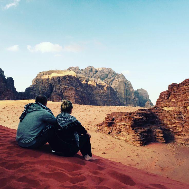 #desert #jordan #view #landscape