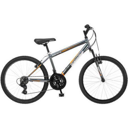 24 inch Roadmaster Granite Peak Boys' Bike, Multiple Colors, Gray