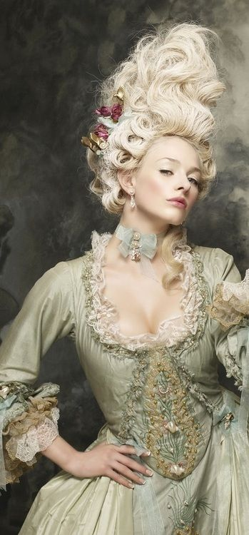 """Masquerading De Marie Antoinette"" #French #Rococo #Style"