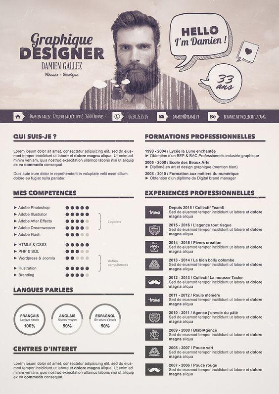 Mer enn 25 bra ideer om Cv examples på Pinterest Resymé, Kreativ - brand manager resume