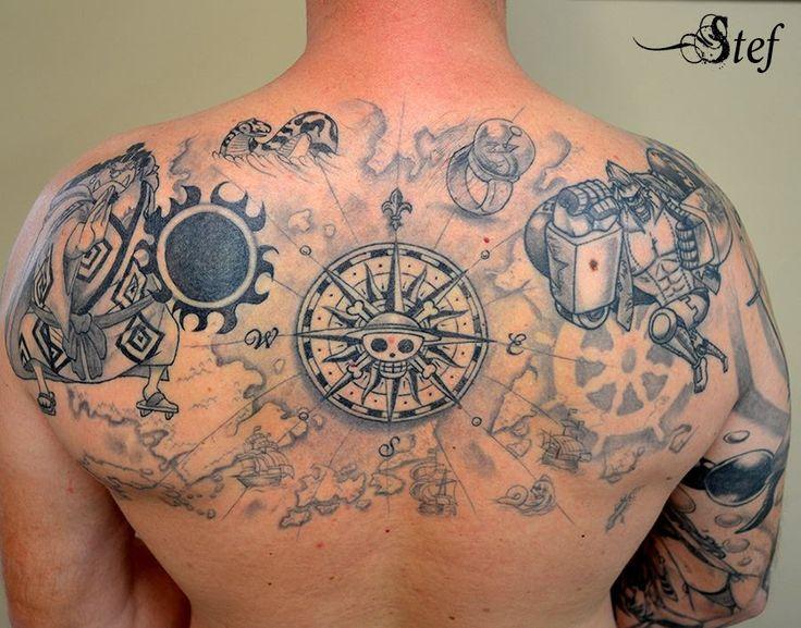 one piece tattoo by by MonkeyDNico 3