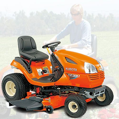 kubota tractor | Kubota Lawn Tractor T Series 18.0HP - 23.0HP Specifications
