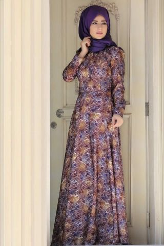 Zehrace Ahenk Tesettür Elbise