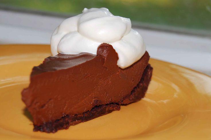 Chocolate-pie slice!