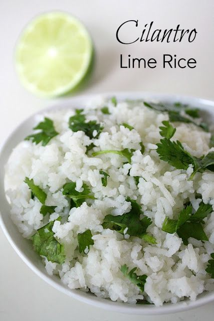 Cilantro Lime Rice | Cilantro, Limes and Mexican Meals