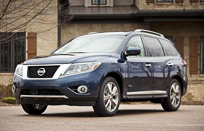 2014 Nissan Pathfinder Hybrid Pricing announced (US). #NissanCars