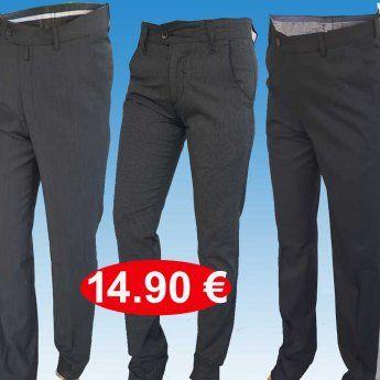 Ανδρικά παντελόνια ποιότητας κλασσικά-κοστουμιού- Μεγέθη 48-58 σε δ...