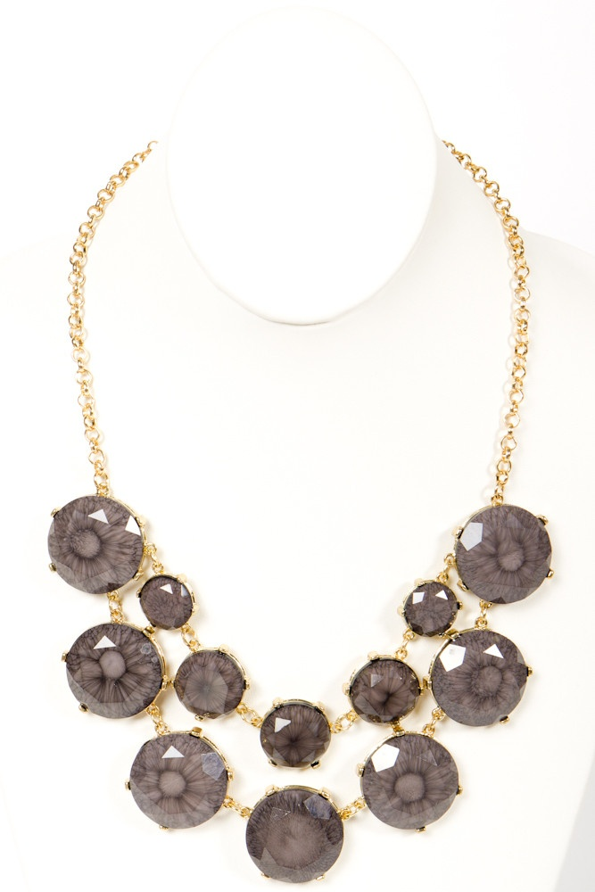 Greystone Statement Necklace#Repin By:Pinterest++ for iPad#