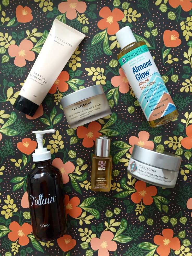 Pregnancy beauty product must-haves