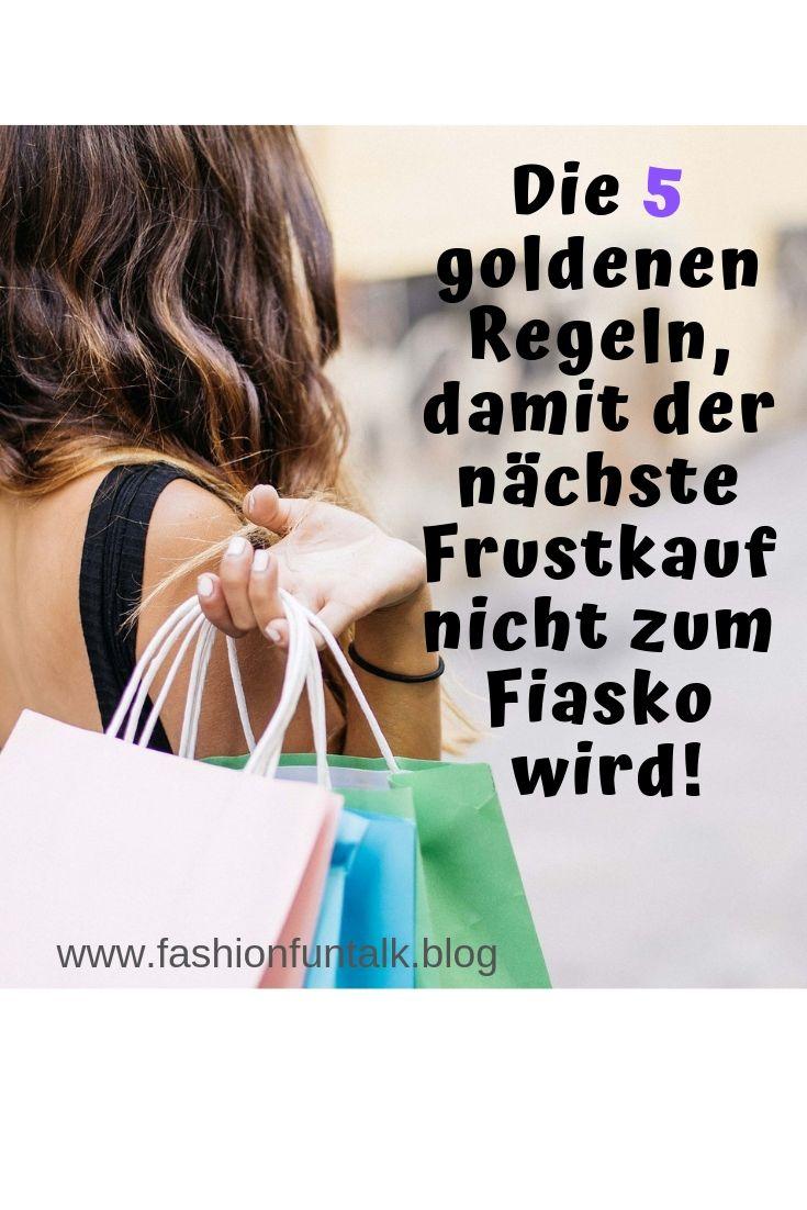 Lustkauf Frustkauf Shopping Tipps Tipps Styling Tipps Goldene Regeln