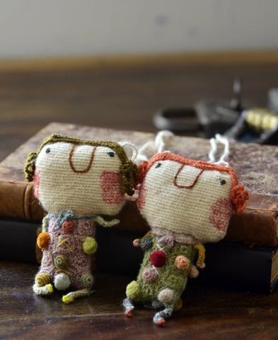 Sophie Digard / Alice wool necklace (CALIC/MM/MR/AGRUM) | petiteparis                                                                                                                                                                                 More