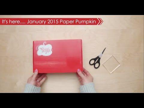 Paper Pumpkin January 2015