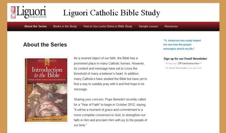 Catholic Study Bibles | Catholic Bible Store