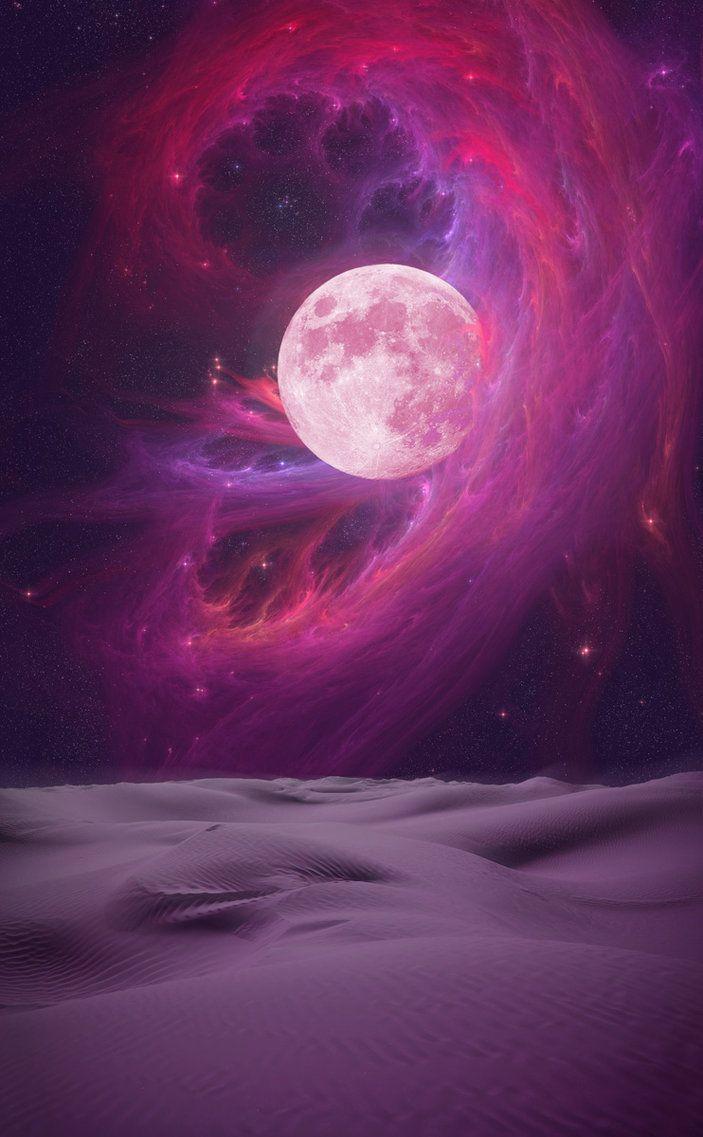 Hunter's Moon by ~Sveinjo on deviantART ALAS, PINK FLOLD HAS RETURNED!!