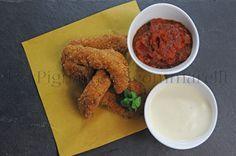 Trippa Nuggets, con crema di pecorino romano alla mentuccia e ketchup piccante | Tra Pignatte e Sgommarelli