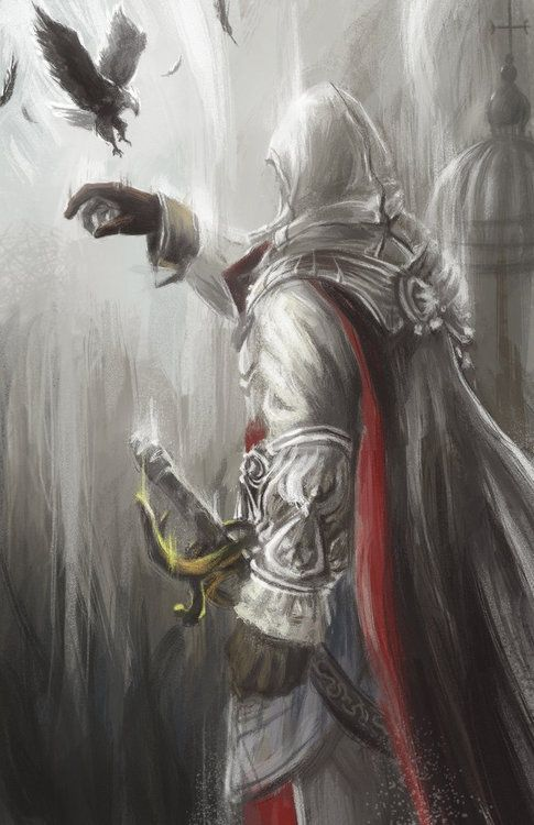 Assassin's Creed 2 Ezio Auditore Fan Art