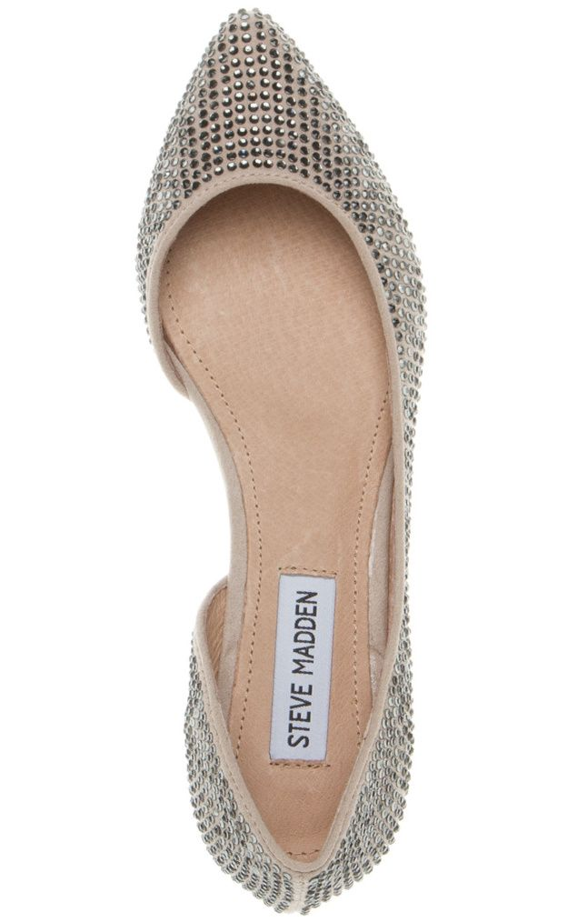 Elizza Bejeweled Pointed-toe Flat