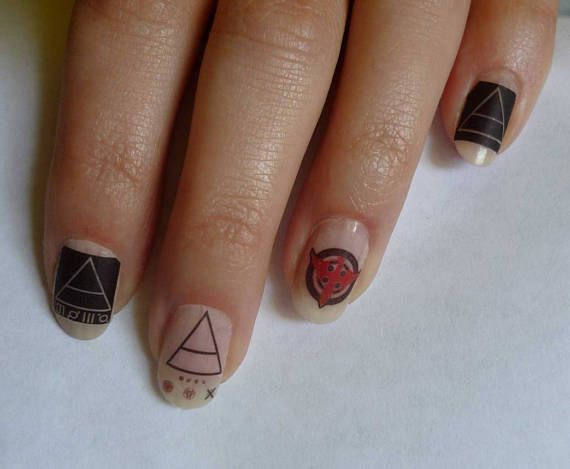 Nail Stickers 30 Seconds to Mars Immediates Full Cover
