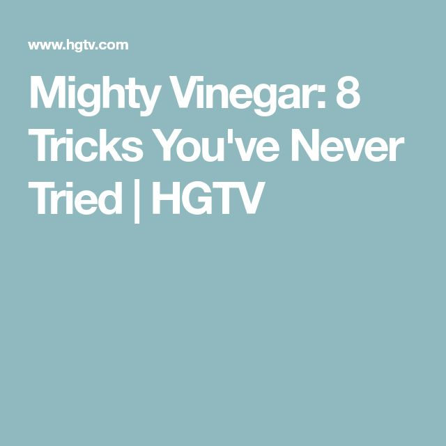 59 best diy images on pinterest cleaning hacks cleaning tips and mighty vinegar 8 tricks youve never tried fandeluxe Gallery