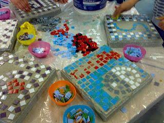 CEEJAY'S MOZAIEK: workshops stoeptegels
