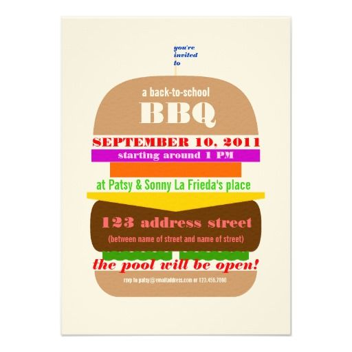 62 best Flyer Ideas images on Pinterest Invitations, Party flyer - bbq flyer