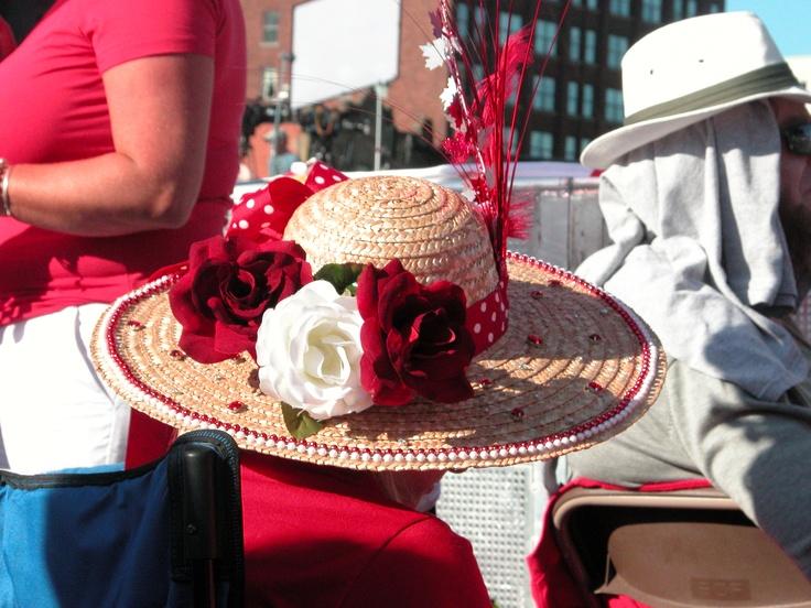 Fascinator Hat  Canada Day 2011 on Parliament Hill, Ottawa, ON