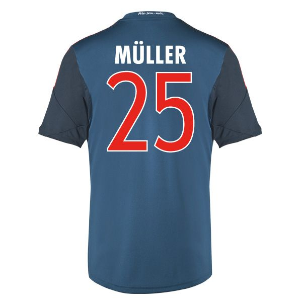 f9e21f2dd24 ... 201415 Thomas Muller 25 Bayern Munich Youth Away Soccer Bayern Munich  (25 Muller) Third Soccer jersey-The cheapest and newest 2013- ...