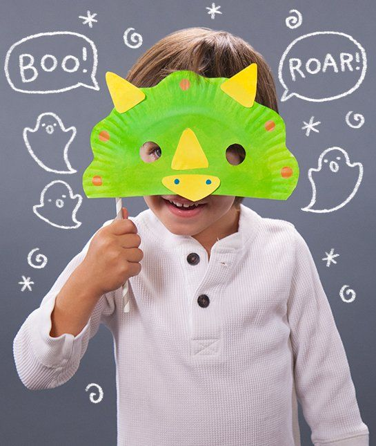 Mask Making 101 - Make these easy masks with your kids either for Halloween or after!