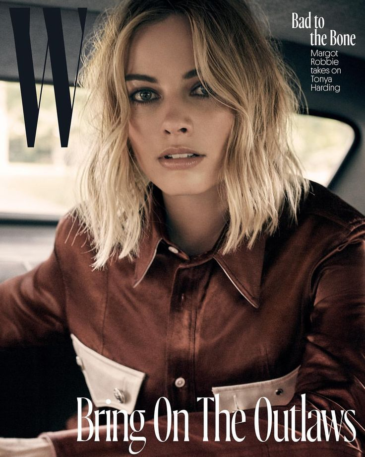 W magazine Margot Robbie plays it cool on the cover of W's November 2017 issue Pinterest @jcolemadison