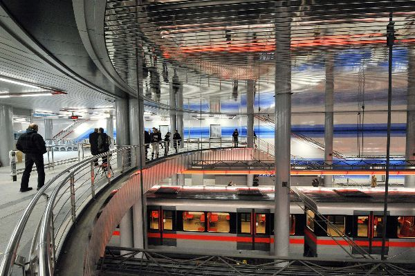 Metro station ''Prosek'' I Prague I Czech Republic