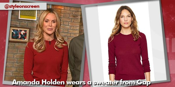 Want to know where Amanda Holden got her jumper on Good Morning Britain? Style on Screen will tell you.