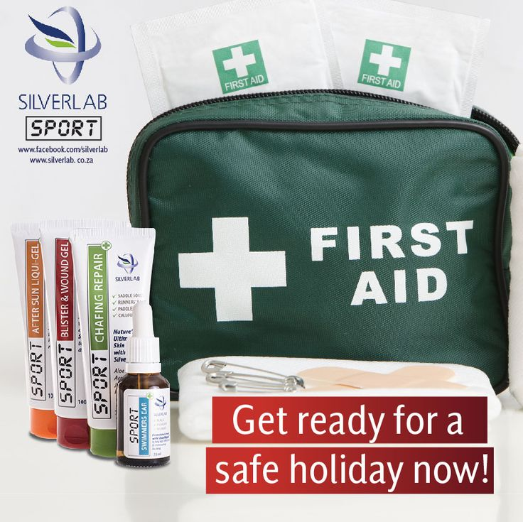 Silverlab SPORT range products are essential for your holiday first aid kit. Keep one of each on hand this holiday so that you and your family are assured of safe, effective treatment 24 hours per day! For more information on the full Silverlab range, visit www.silverlab.co.za Available without the prescription at: www.takelot.com www.wellnesswarehouse.co.za www.dischem.co.za and leading pharmacies and health shops. #SilverLab #Wellnesswarehouse #Dischem #Takealot