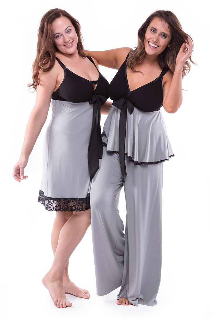 Straight Laced A-Line Smoke Grey Dress + Swing It Sister Chill Out Wide Leg Pant Smoke Grey