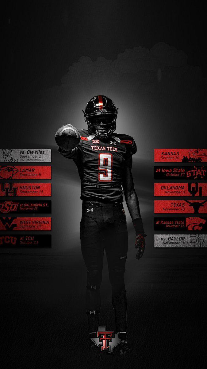 Texas Tech Sports Design Inspiration Sport Poster Design Football Design