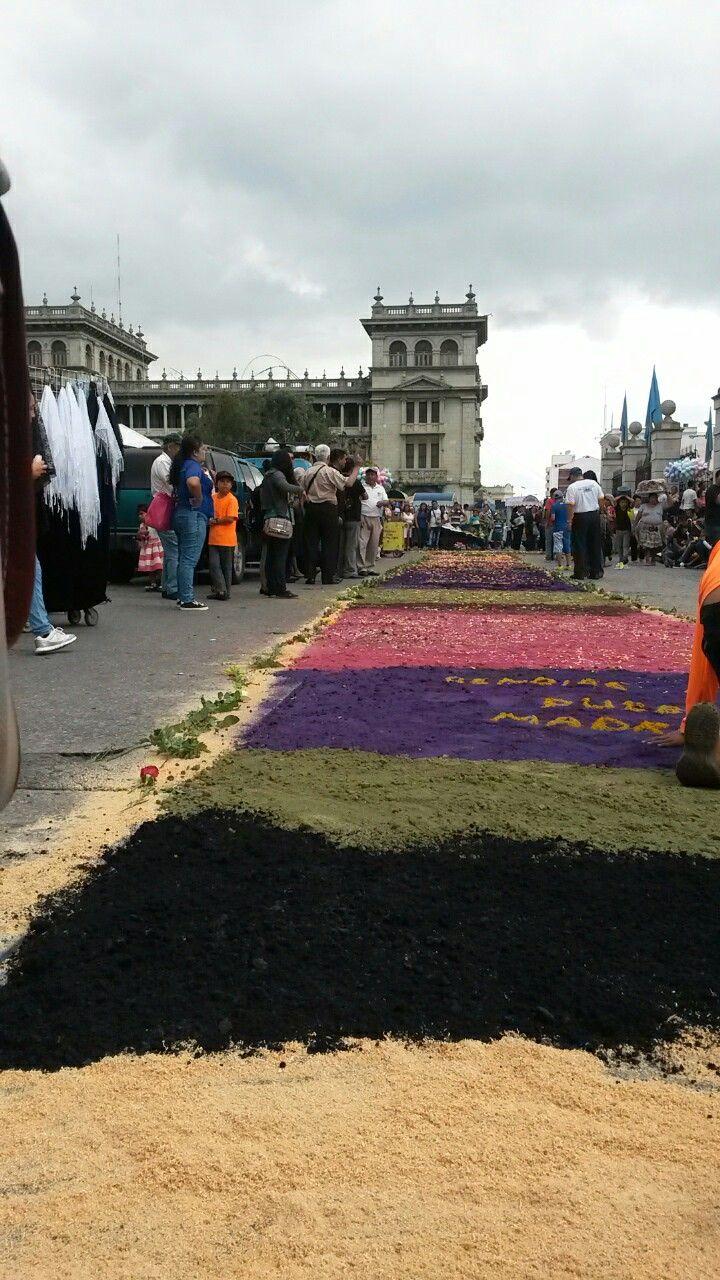 Dia de la Virgen de la Asuncion Patrona de Guatemala. Photo by Ericka Rivera.