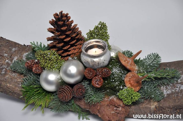 kerst-guirlande-50-schors-zilver-detail