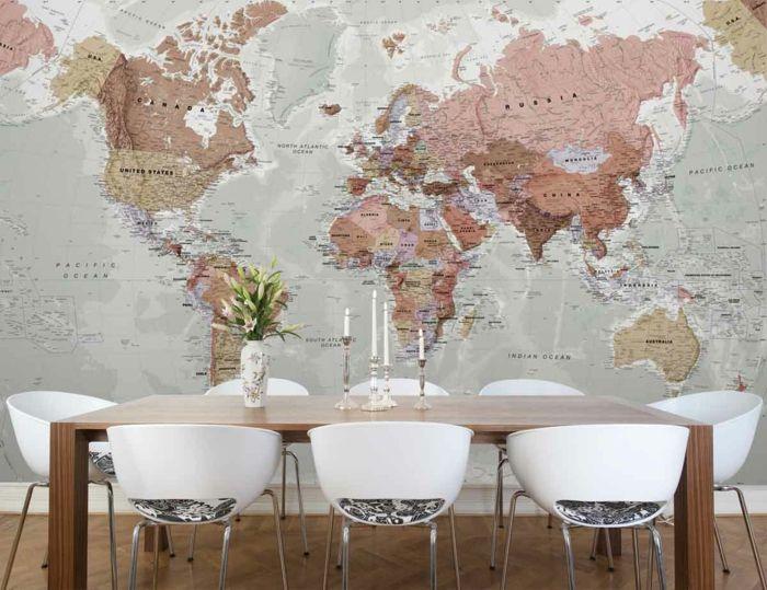 974 best Wanddekoration - Interior Wallpapers - Farben und coole - wanddeko